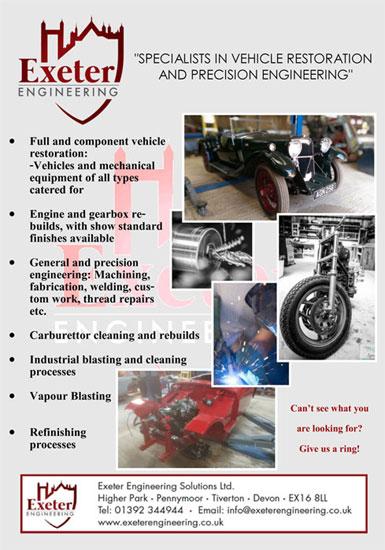 EXETER ENGINEERING - Restoration