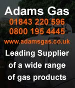 Adams Gas leading supplier of gas products