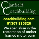 Clanfield - restoration of timber framed motor cars
