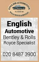 English Automative - Rolls Royce -Bentley specialist