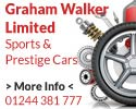 Graham Walker sports prestige cars