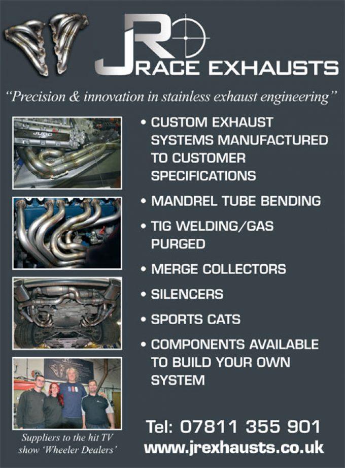 JR Race Exhausts