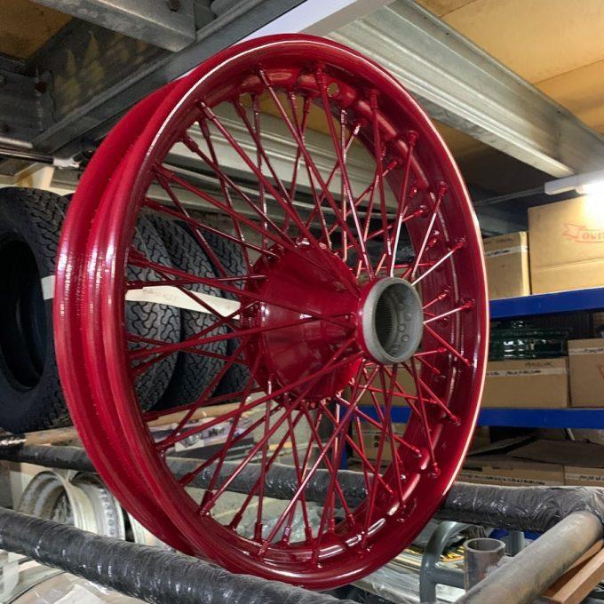 Turrino wire wheels