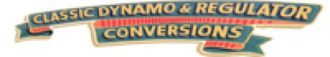 Classic Dynamo  & Regulator Conversions