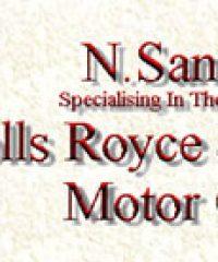 N Sandell Specialising in Rolls-Royce and Bentley Motor Cars