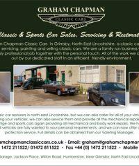 Graham Chapman Classic Cars
